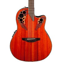 Ovation Celebrity Elite Plus Acoustic-Electric Guitar Natural