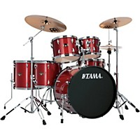Tama Imperialstar 6-Piece Drum Set With Cymbals Candy Apple Mist