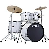 Tama Imperialstar 5-Piece Drum Set With Cymbals Sugar White
