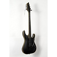 Used Schecter Guitar Research Blackjack Atx C-1 Electric Guitar With Floyd Rose Satin Aged Black 888365950556