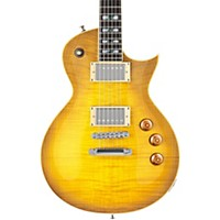 Esp Ltd As-1 Alex Skolnick Electric Guitar Lemon Burst Flame Maple