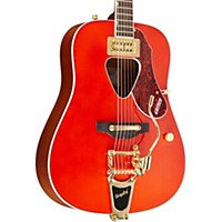 Gretsch Guitars G5034tft Rancher Dreadnought Acoustic Guitar Savannah Sunset