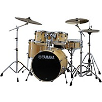 Yamaha Stage Custom Birch 5-Piece Shell Pack With 22 Bass Drum Natural Wood