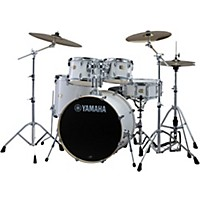 Yamaha Stage Custom Birch 5-Piece Shell Pack With 22 Bass Drum Pure White