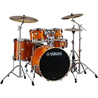 Yamaha Stage Custom Birch 5-Piece Shell Pack With 22 Bass Drum Honey Amber