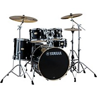 Yamaha Stage Custom Birch 5-Piece Shell Pack With 22 Bass Drum Raven Black