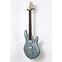 Used Sterling By Music Man Lk100d Electric Guitar Luke Blue 190839029560