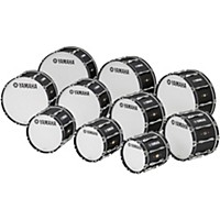 Yamaha 28 X 14 8300 Series Field-Corps Marching Bass Drum Black Forest