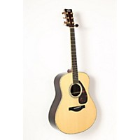 Used Yamaha Ll16rd L Series Solid Rosewood/Spruce Dreadnought Acoustic-Electric Guitar Natural 888365850993