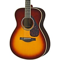 Yamaha Ls16r L Series Solid Rosewood/Spruce Concert Acoustic-Electric Guitar Brown Sunburst