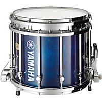 Yamaha 8300 Series Sfz Marching Snare Drum 14 X 12 In. Blue Forest With Chrome Hardware