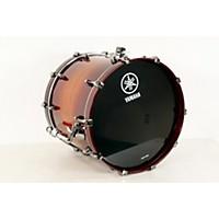 Used Yamaha Live Custom Oak Bass Drum 20 X 16 In., Amber Shadow Sunburst 190839028631