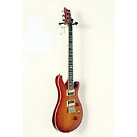 Used Prs Se Custom 24 Creme Binding Electric Guitar Cherry Sunburst, Rosewood Fretboard 190839044334