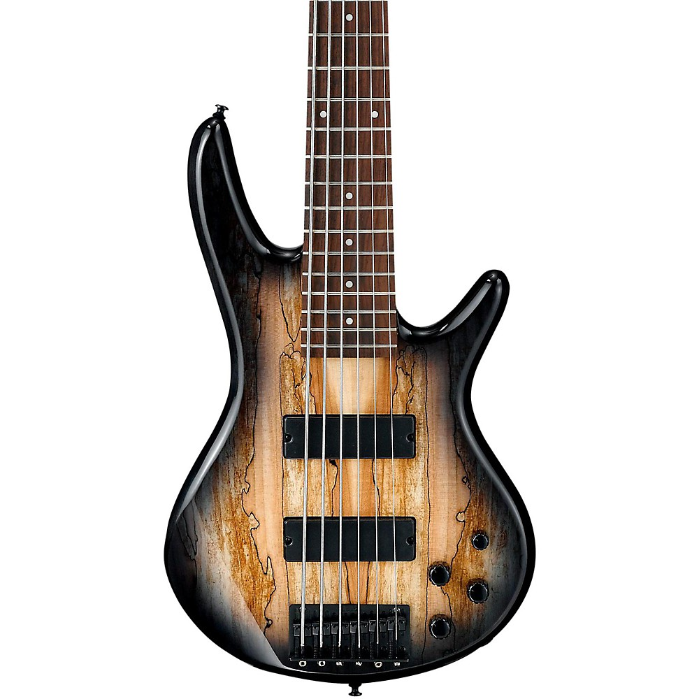 Ibanez Gsr206sm 6 String Electric Bass Guitar Natural Gray Burst An Affordable Lightweight Perfect For A New Player Or Working Musician With