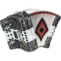 Sofiamari Sm-3412 34-Button 12 Bass Accordion Fbe Gray/White/Gray
