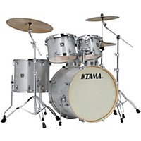 Tama Superstar Classic Custom 5-Piece Shell Pack Silver Snow Metallic