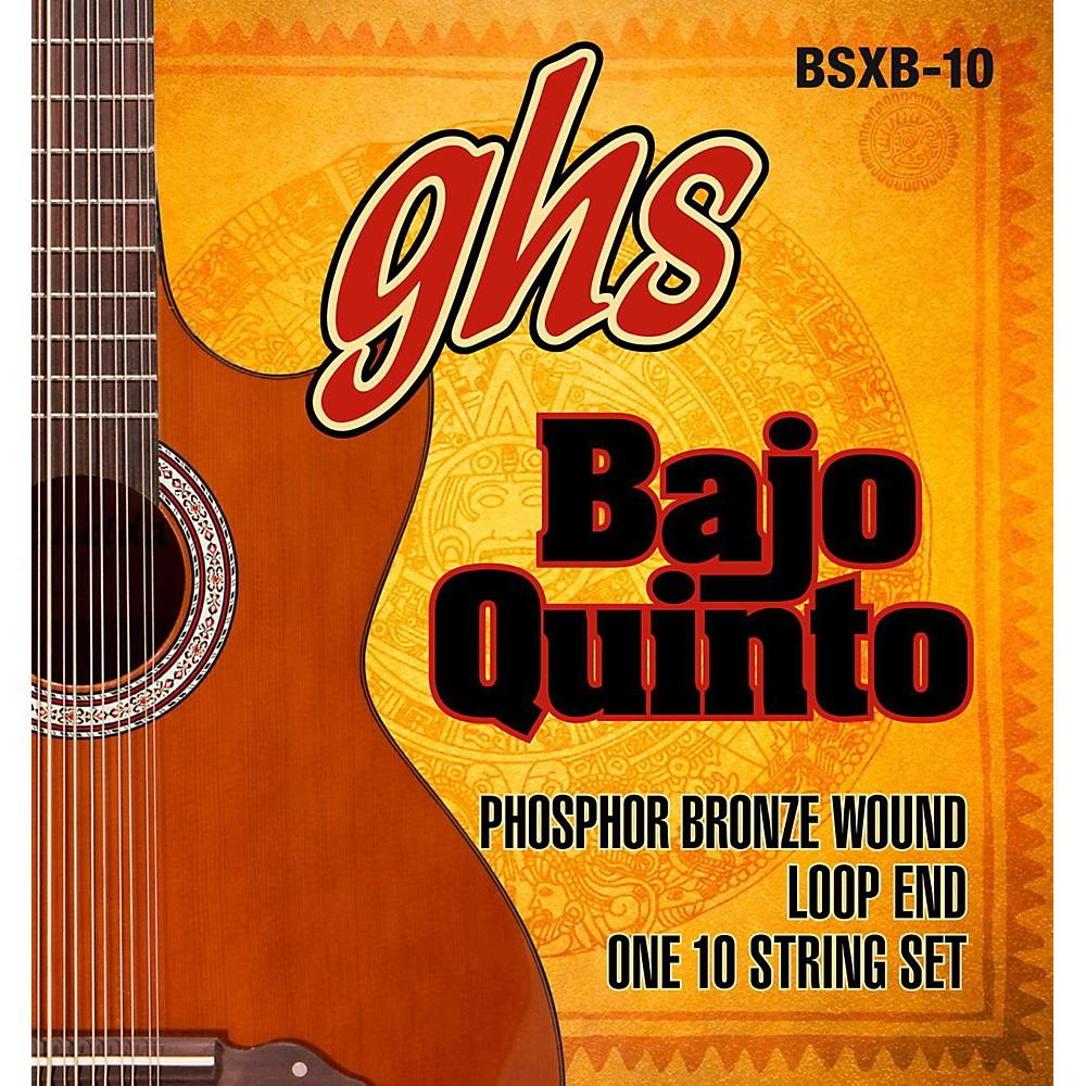 ghs bajo quinto 10 string phosphor bronze acoustic guitar strings ebay. Black Bedroom Furniture Sets. Home Design Ideas