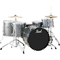 Pearl Roadshow 5-Piece Rock Drum Set Charcoal Metallic