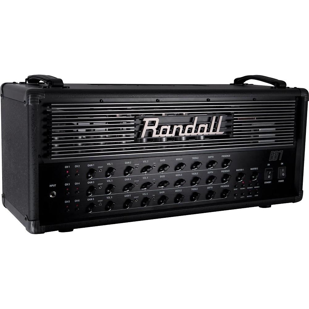Randall 667 120W Guitar Tube Amp Head Black