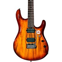 Sterling By Music Man Jp100d John Petrucci Signature Series Koa Top Dimarzio Pickups Electric Guitar Natural