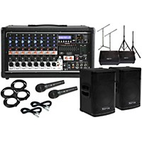 Peavey Pvi8500 With Kpx115 15 Speaker And 12 Monitor Package