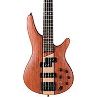 Ibanez Sr755 5-String Electric Bass Guitar Flat Natural