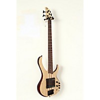 Used Ibanez Btb33 5-String Electric Bass Guitar Flat Natural 190839048905