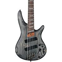 Ibanez Srff805 Multi-Scale 5-String Electric Bass Guitar Satin Black