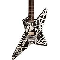 Evh Stripe Series Star Electric Guitar Black And White Stripes