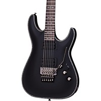 Schecter Guitar Research Hellraiser C-1 Passive With Floyd Rose Trem Electric Guitar Satin Black