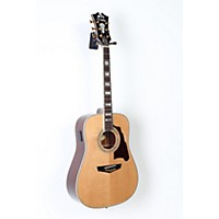 Used D'angelico Lexington Dreadnought Acoustic-Electric Guitar Natural 190839016119