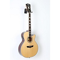 Used D'angelico Mercer Grand Auditorium Cutaway Acoustic-Electric Guitar Natural 190839027436