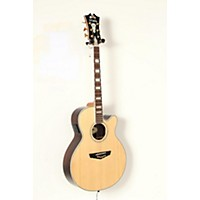 Used D'angelico Gramercy Sitka Grand Auditorium Cutaway Acoustic-Electric Guitar Natural 190839050885