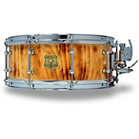 Outlaw Drums White Pine Stave Snare Drum With Chrome Hardware 14 X 5.5 In. Forest Fire