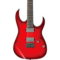 Ibanez Rg6005 Quilted Maple Electric Guitar Transparent Red Burst