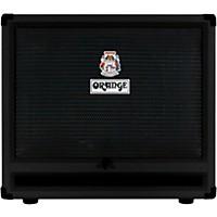 Orange Amplifiers Obc212 600W 2X12 Bass Speaker Cabinet Black