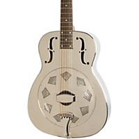 Dobro Hound Dog M-14 Metalbody Nickel