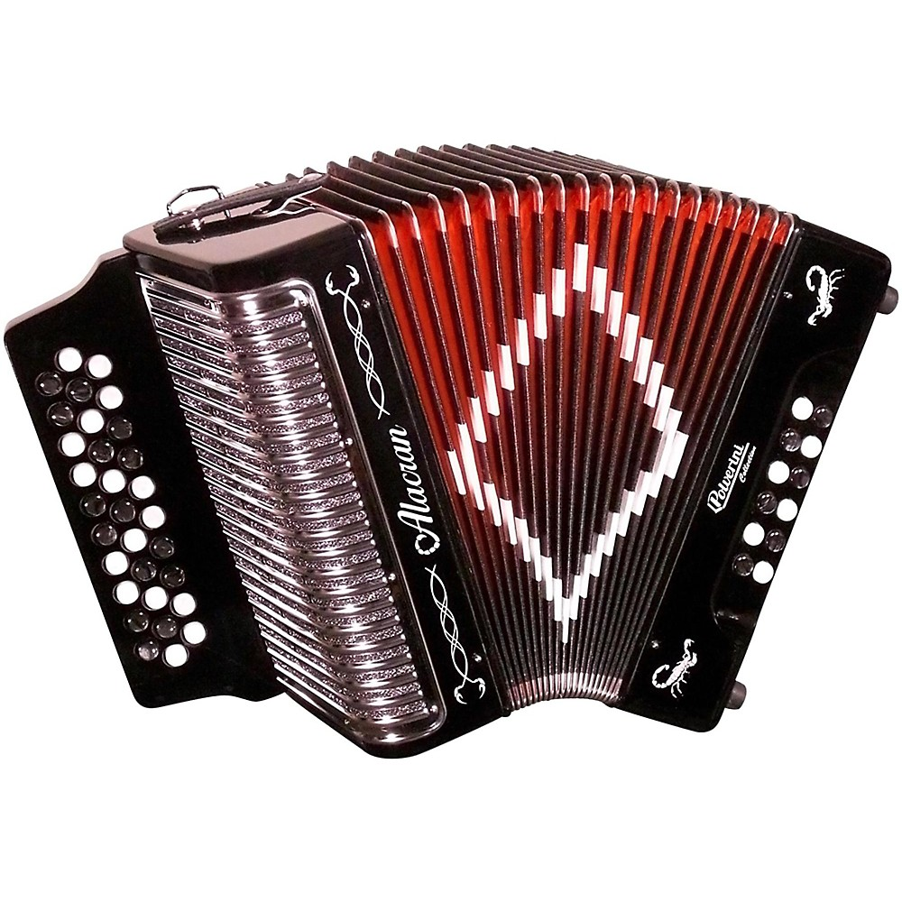 Alacran Accordion Al3112 Black With Case Fbe