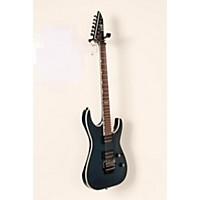 Used Esp Ltd Mh-401Qm Electric Guitar See-Thru Blue 888365965239