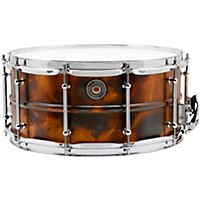 Taye Drums Metalworks Vintage Brass Snare 14 X 6.5 Patina Finish