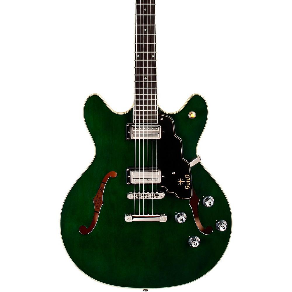 Guild Starfire Iv St Semi-Hollowbody Electric Guitar Green
