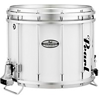 Pearl Championship Maple Ffx Marching Snare Drum 14 X 12 In. Pure White