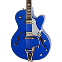Epiphone Limited Edition Emperor Swingster Blue Royale Electric Guitar Chicago Pearl