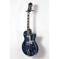 Used Epiphone Limited Edition Emperor Swingster Blue Royale Electric Guitar Chicago Pearl 190839048622