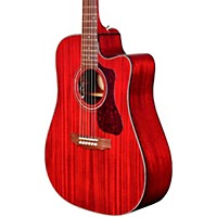 Guild D-120Ce Acoustic-Electric Guitar Cherry Red