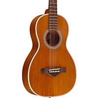 Ibanez Artwood Vintage All Mahogany Parlor Acoustic Electric Guitar Natural