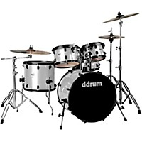 Ddrum Journeyman2 Series Player 5-Piece Drum Kit With 22 In. Bass Drum Silver Sparkle