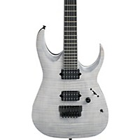 Ibanez Iron Label Rg Series Rgaix6fm Electric Guitar Flat White Frost