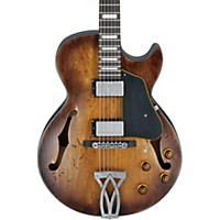 Ibanez Artcore Vintage Series Agv10a Hollowbody Electric Guitar Tobacco Burst Low Gloss