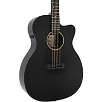 Martin Custom X Series 2016 X-000Ce Auditorium Acoustic-Electric Guitar Black